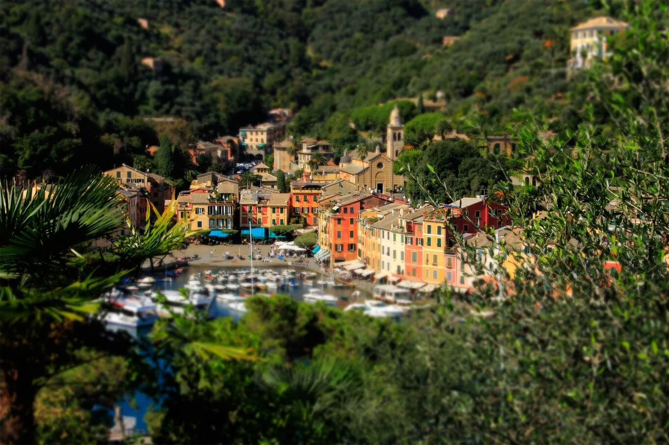 Portofino tilt shifted